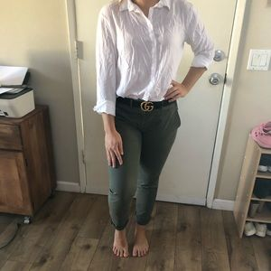 COMFY Army green - olive KHAKIS by GAP- Stretchy